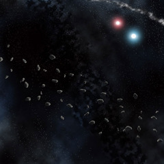 Asteroid Field Space Mat - Gale Force 9