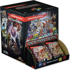 Dungeons and Dragons Dice Masters: Battle for Faerun Gravity Feed Display (90 Count) © 2015