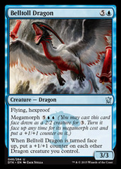Belltoll Dragon - Foil (DTK)