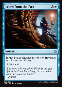 Learn from the Past - Foil