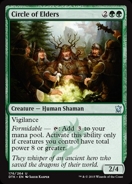 Circle of Elders - Foil