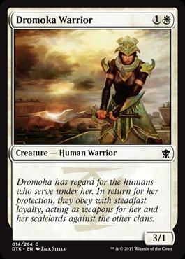 Dromoka Warrior - Foil