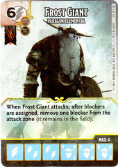 Frost Giant - Paragon Elemental (Card Only)
