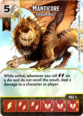 Manticore - Paragon Beast (Card Only)