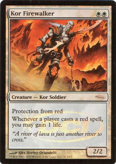 Kor Firewalker - WPN Foil