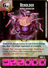 Beholder - Minion Aberration (Die & Card Combo)