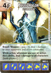 Blue Dragon - Lesser Dragon (Die & Card Combo)