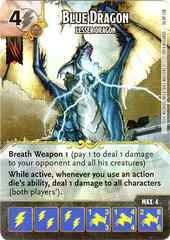 Blue Dragon - Lesser Dragon (Die & Card Combo)