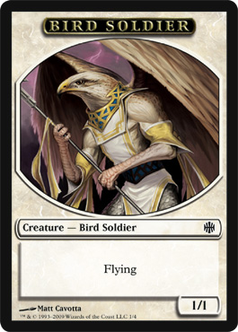 Bird Soldier Token