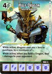 Half-Dragon - Greater Humanoid (Die & Card Combo)