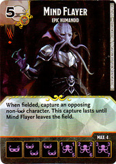 Mind Flayer - Epic Humanoid (Die & Card Combo)