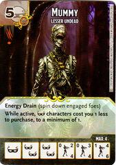 Mummy - Lesser Undead (Die & Card Combo)