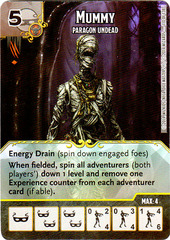 Mummy - Paragon Undead (Die & Card Combo)