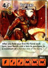 Pit Fiend - Lesser Fiend (Die & Card Combo)