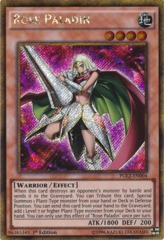 Rose Paladin - PGL2-EN004 - Gold Secret Rare - 1st Edition