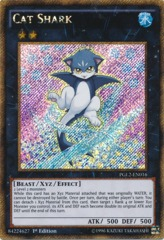 Cat Shark - PGL2-EN016 - Gold Secret Rare - 1st Edition on Channel Fireball