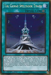 The Grand Spellbook Tower - PGL2-EN057 - Gold Rare - 1st Edition