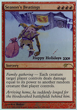 Seasons Beatings - 2009 Holiday Foil