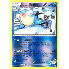 Team Aqua's Sealeo - 4/34 - Common - Reverse Holo