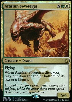 Arashin Sovereign - Intro Pack Promo