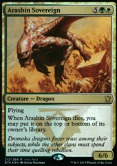 Arashin Sovereign (Intro Pack Foil) on Channel Fireball