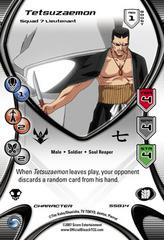 Tetsuzaemon - Squad 7 Lieutenant