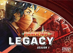 Pandemic Legacy Season 1 - Red (Z-Man Games)
