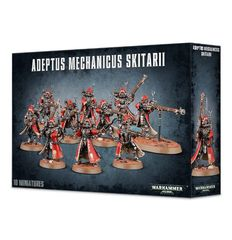 Adeptus Mechanicus Skitarii Rangers/Vanguard Unit