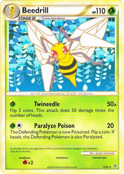 Beedrill - 12/95 - Rare
