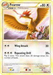Fearow - 15/95 - Rare on Channel Fireball