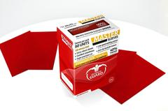 Ultimate Guard - MASTER SLEEVES - Standard size -  red