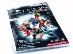 Ultimate Guard - Comic Bags Resealable - Silver size