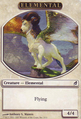 Elemental Token - White