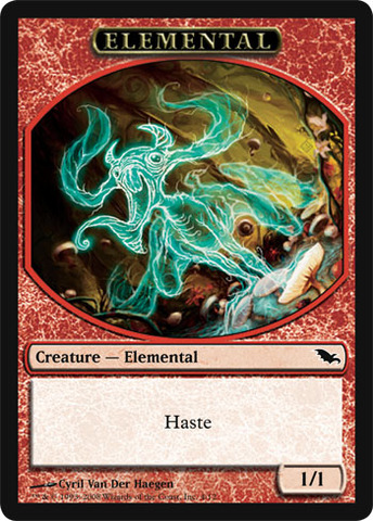 Elemental Token - Red