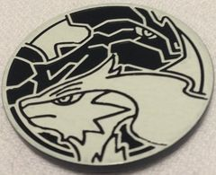 Black and White Reshiram and Zekrom Collectable Coin