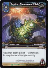 Durizon, champion of A'dal