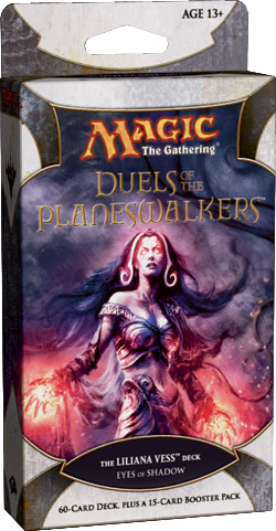 Duels of the Planeswalkers: Eyes of Shadow - The Liliana Vess Deck