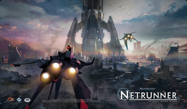 Android: Netrunner Playmat - The Root