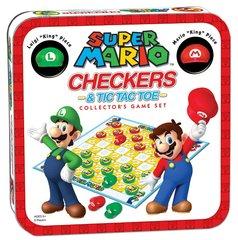 Super Mario Bros Checkers & Tic Tac Toe Combo