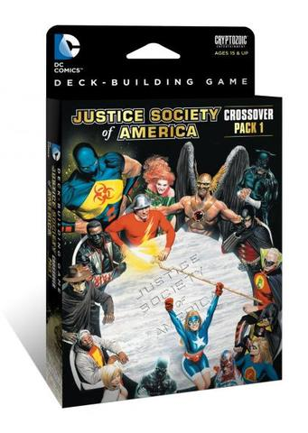DC Comics Deck-Building Game: Crossover Pack #1 - Justice Society of America