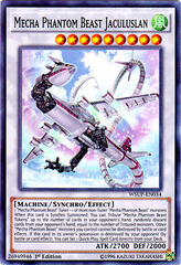 Mecha Phantom Beast Jaculuslan - WSUP-EN034 - Super Rare - 1st Edition on Channel Fireball
