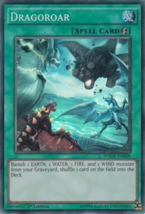 Dragoroar - WSUP-EN038 - Super Rare - 1st Edition