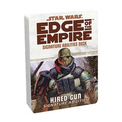 Star Wars: Edge of the Empire: Signature Abilities Deck: Hired Gun