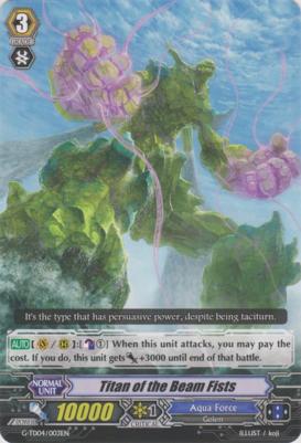 Titan of the Beam Fists - G-TD04/003