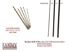 Army Painter Spare Drills & Pins