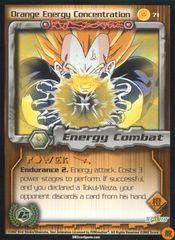 Orange Energy Concentration