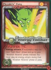 Piccolo's Fury