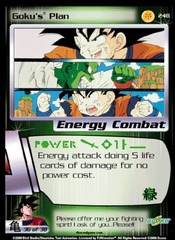 Goku's Plan - 248 - Limited Edition