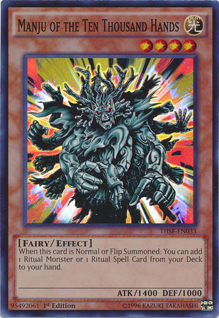 Manju of the Ten Thousand Hands - THSF-EN033 - Super Rare - Unlimited Edition