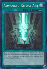 Advanced Ritual Art - THSF-EN052 - Super Rare - Unlimited Edition on Channel Fireball